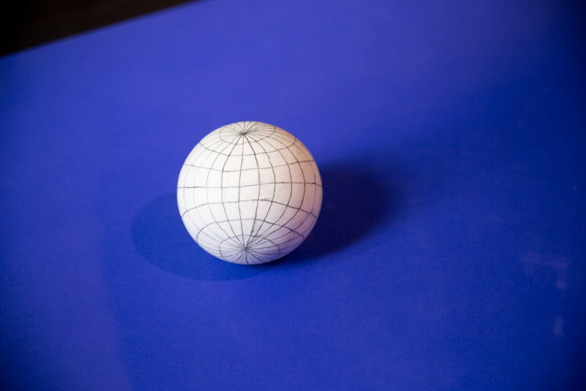 Polarité (45°) globe