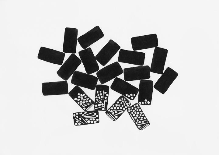 Dominos-gravitation (dessin)