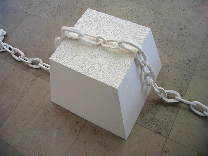 Dispositif de protection en plâtre