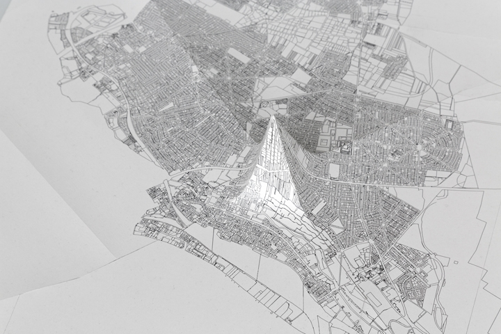 Projections redressées (Pyramide de Juvisy)