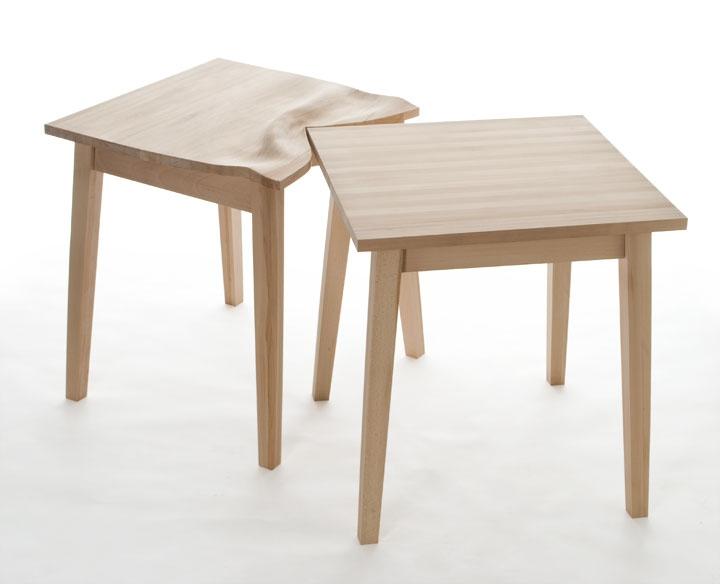 Tables choquées