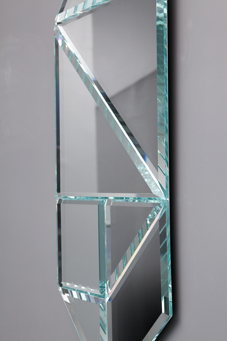 Tangrams convexes suzy leli vre for Argenture miroir